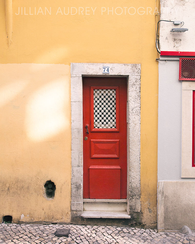 Ketchup and Mustard Door Photograph / Photography Print