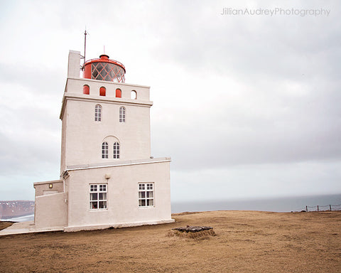 Lighthouse On The Cliffs / Photography Print
