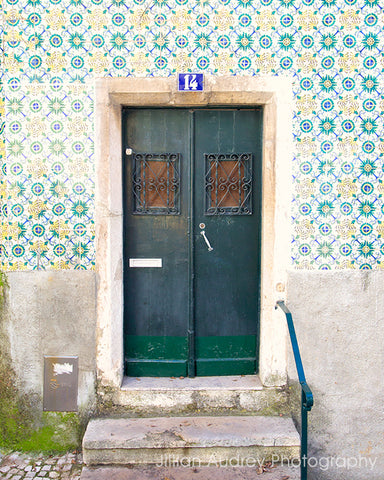 Lisbon 14 Door / Photography Print