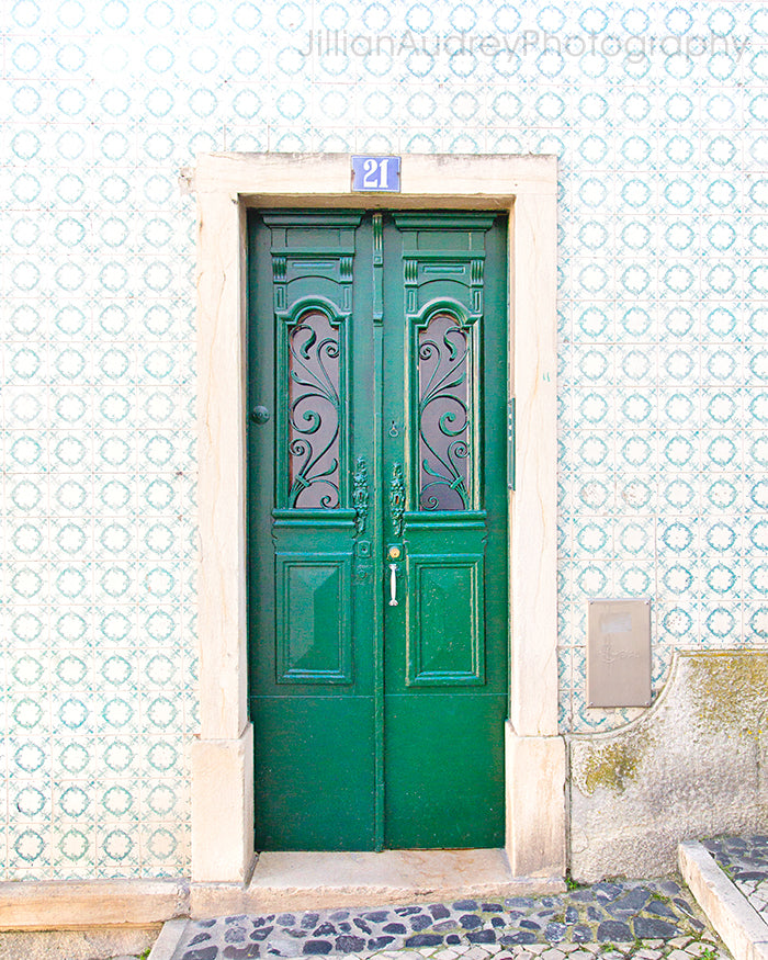 Lisbon Door 21 / Photography Print