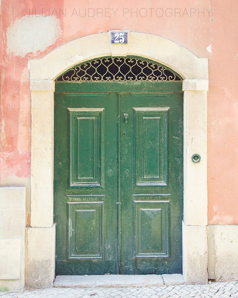 Lisbon Door 25 / Photography Print