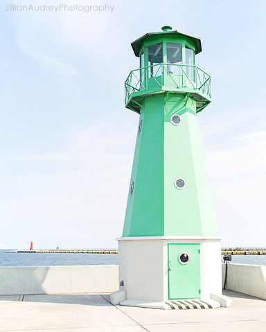 Little Green Lighthouse / Photography Print