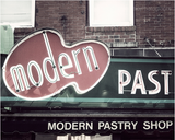 Modern Pastry Shop / Photography Print