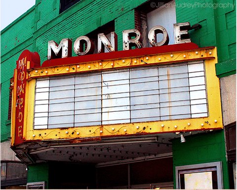 Monroe Movie Theater / Photography Print