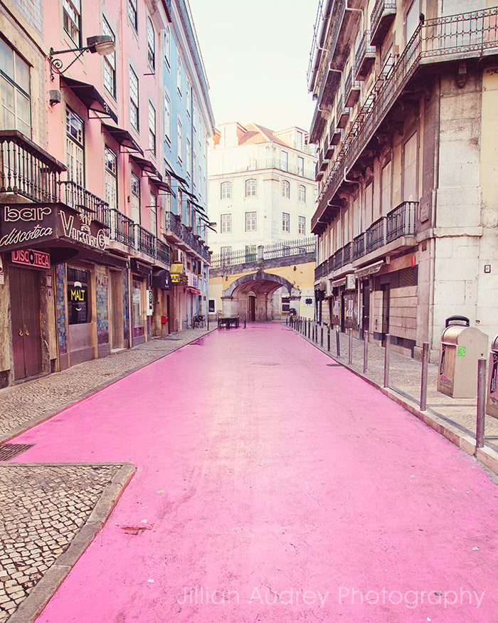 Pink Street / Photography Print