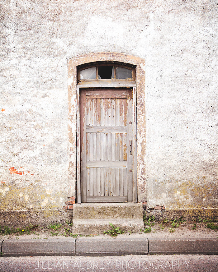 Brown Door / Photography Print