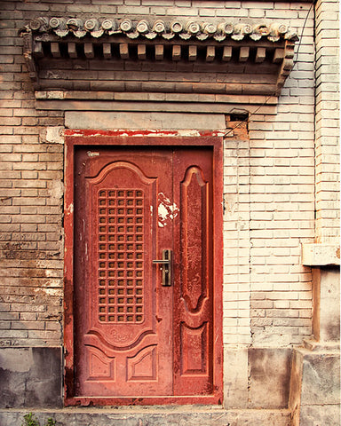 The Red Door, Beijing / Photography Print