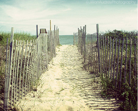 Welcome to the Beach / Photography Print