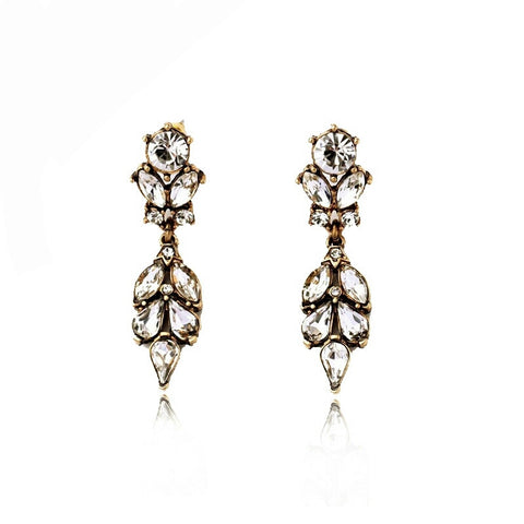 Antique look earrings