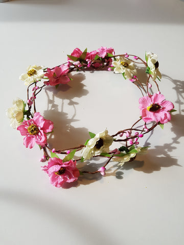 Sweetheart flower crown