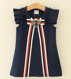 Navy Bee Dress