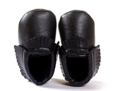 Faux Leather Moccasins