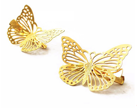 A Lucky Butterfly Butterfly Clips