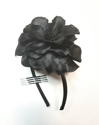 Silk Rose Headband