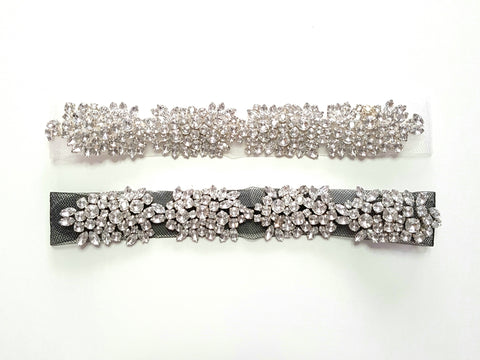 Crystal mesh headband ladies