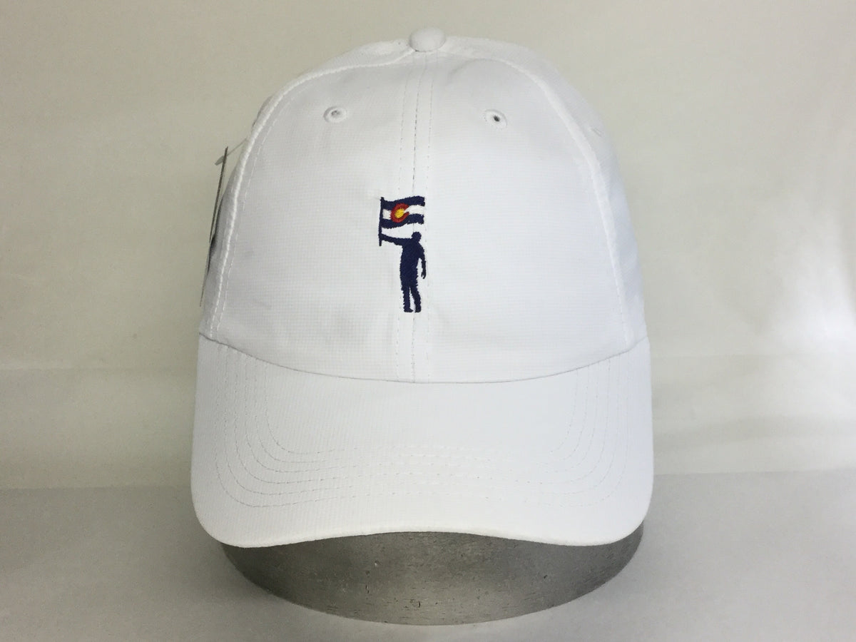 Ladies NLU Summit Cotton Hat | White