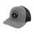 NLU Patch Hat | Mesh Snapback | Grey & Black