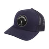 NLU Patch Hat | Mesh Snapback | Navy