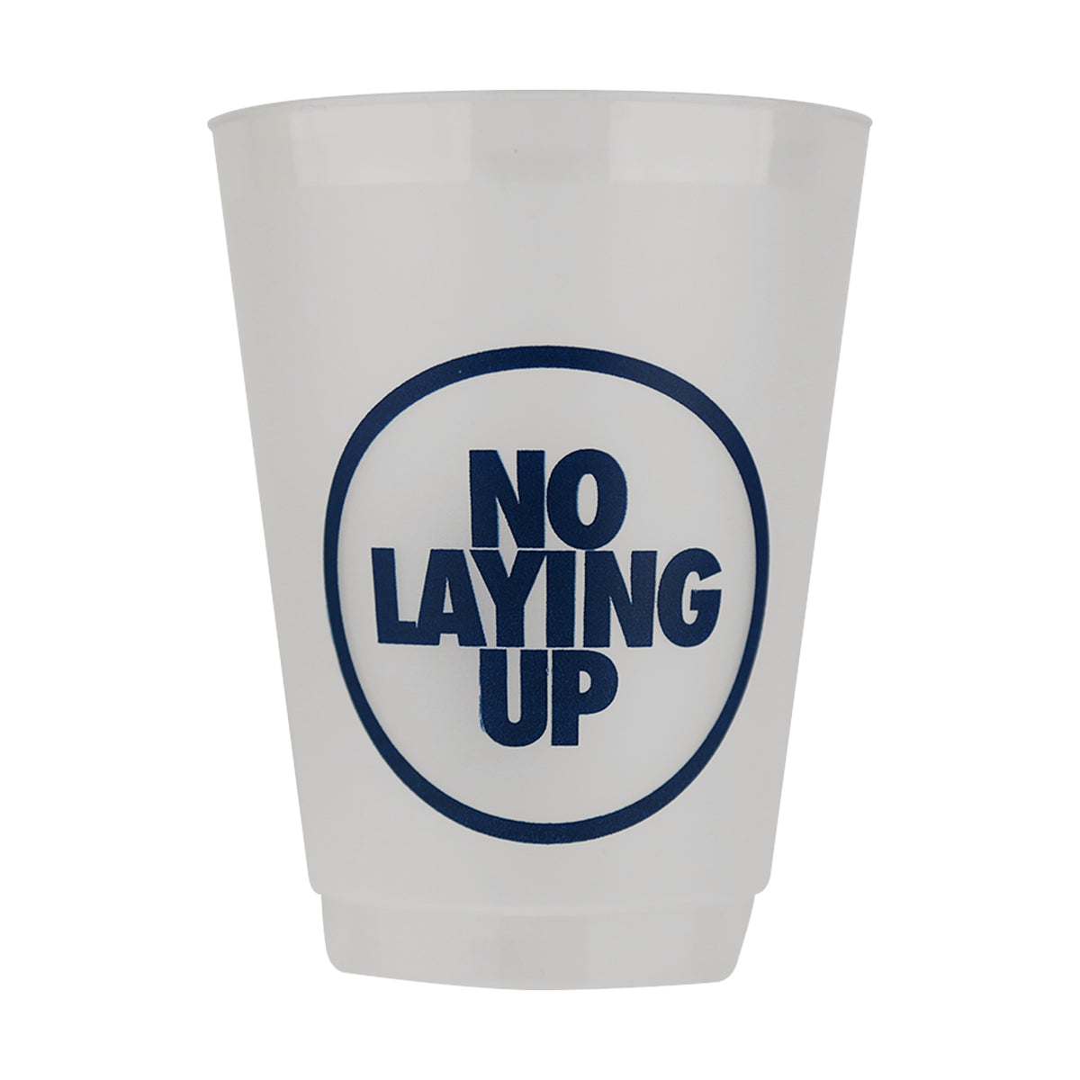 "Stadium Cups - ""Domestic"" White (pack of 6)"