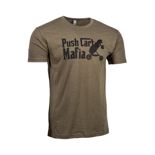 The Push Cart Mafia T-Shirt | Military Green