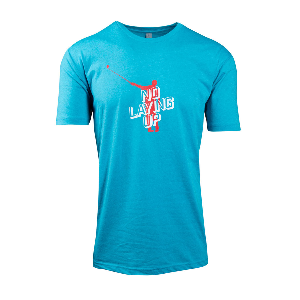 NLU Retro Logo T-Shirt | Aqua Blue