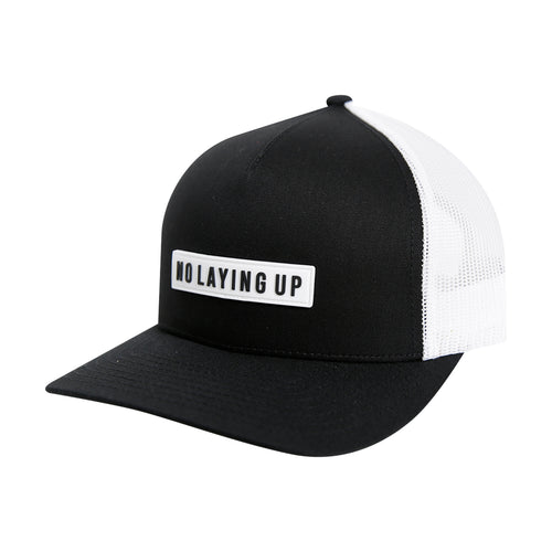 NLU White Patch Hat | Black & White