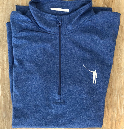 NLU Performance Pullover | Heather Blue