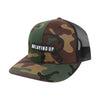 NLU Black Patch Hat | Camo & Black
