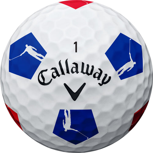 NLU Truvis Golf Balls | Red, White & Blue