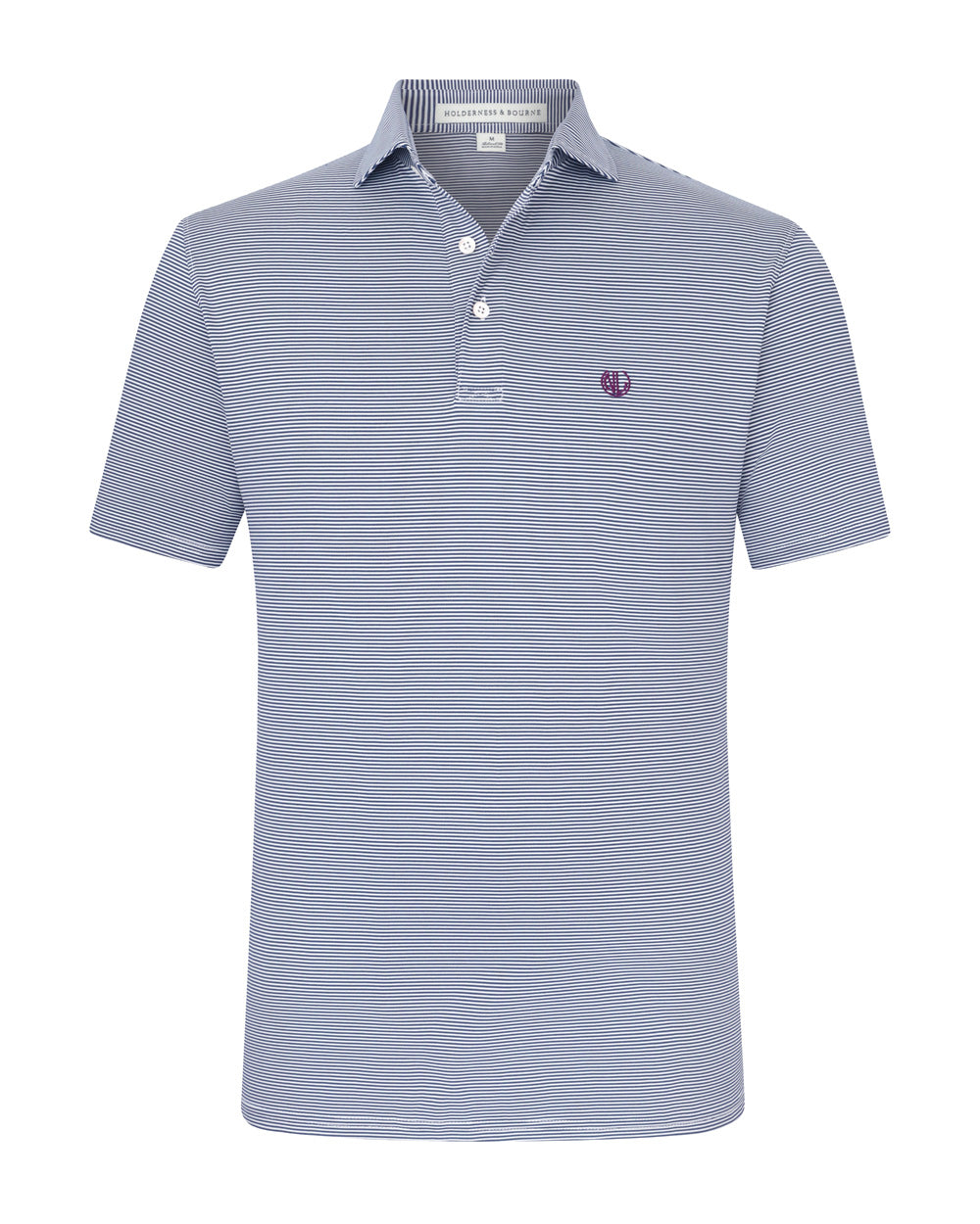 NLU + H&B Polo | Navy & White