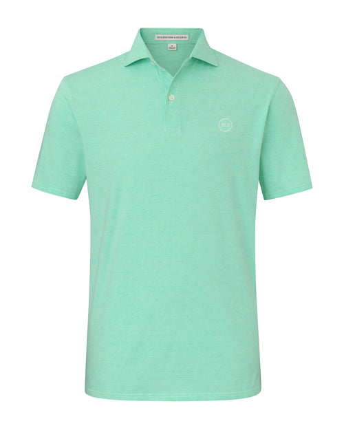 NLU + H&B Cotton Polo | Mint
