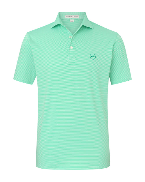 NLU + H&B Polo | Mint & White