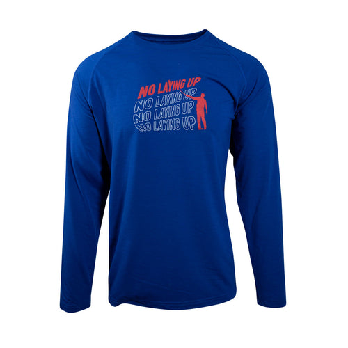 NLU Scroll Logo Long Sleeve | Blue