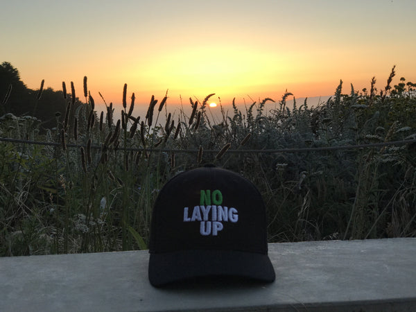 NLU-hat-sunset