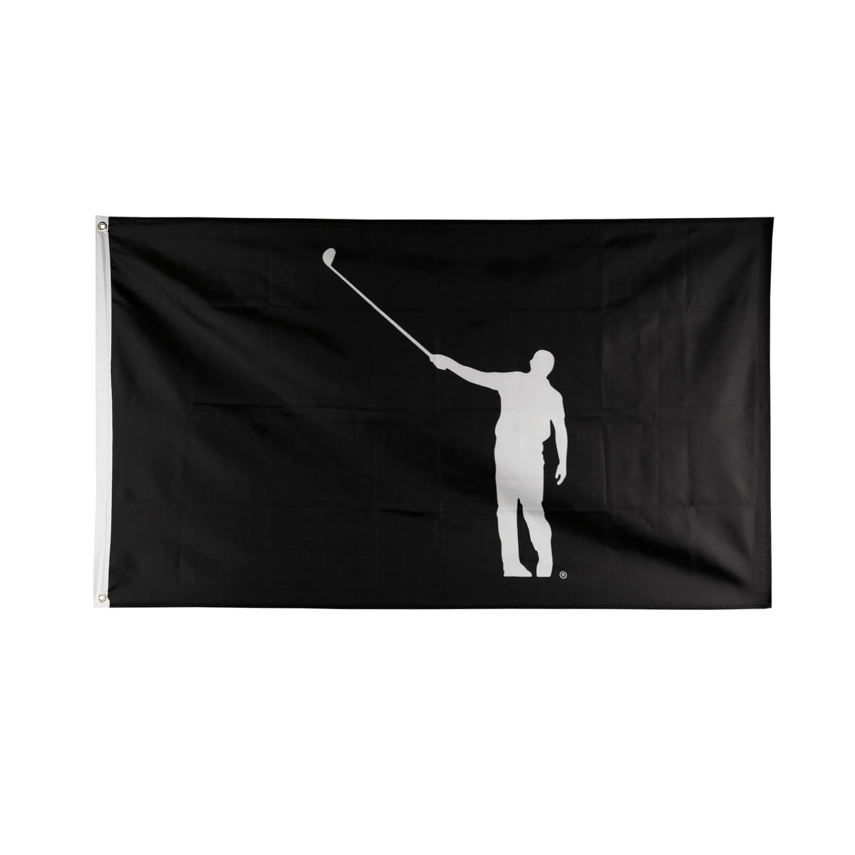 No Laying Up Flag - Black & White