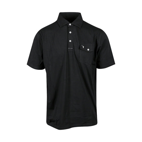 The NLU Pocket Polo | Black