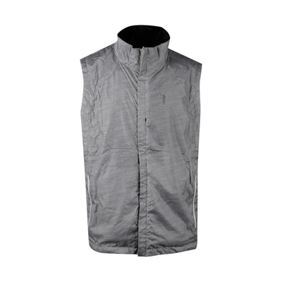 NLU Reversible Vest | Black & Grey