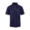 The NLU Pocket Polo | Navy (only S & BR left)