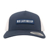 NLU Navy Patch Hat | Navy & White Mesh