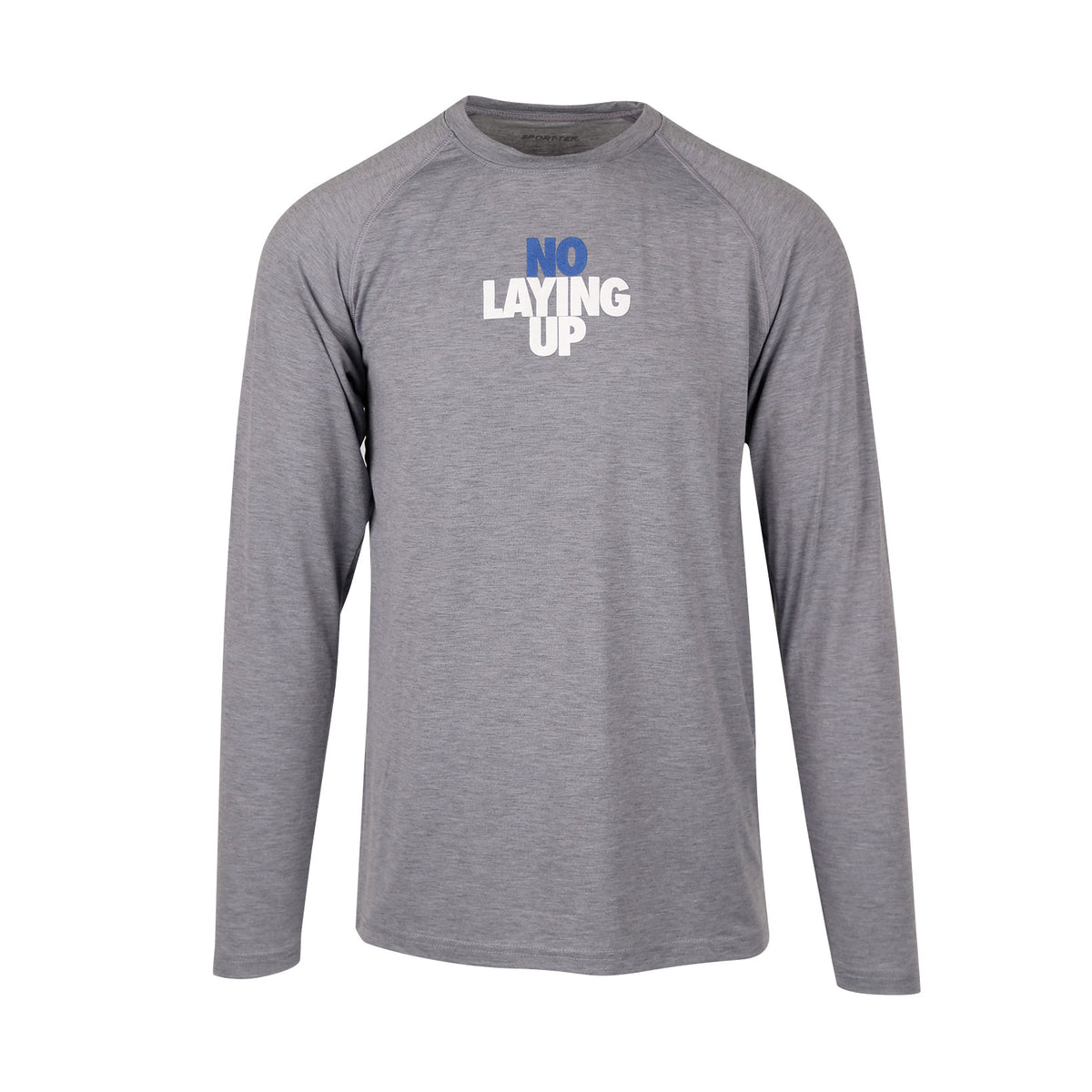 NLU Performance Long Sleeve | Heather Grey (S and 2XL Remaining)