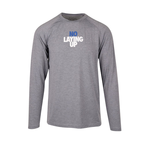 NLU Performance Long Sleeve | Heather Grey