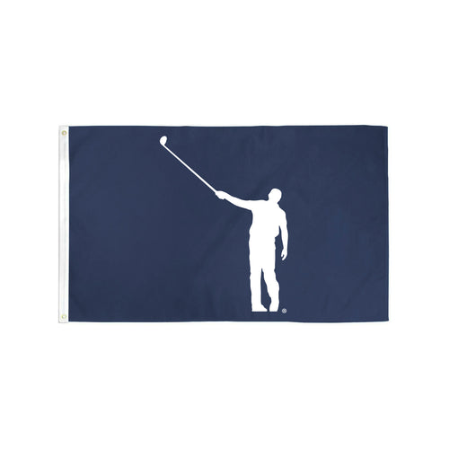 No Laying Up Flag - Navy & White