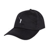 The No Laying Up Ladies Cotton Hat | Black w/ White Logo