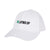 The No Laying Up Ladies Cotton Hat | White w/ Green & Black