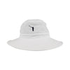 The NLU Mega-Bucket | White w/ Black Logo