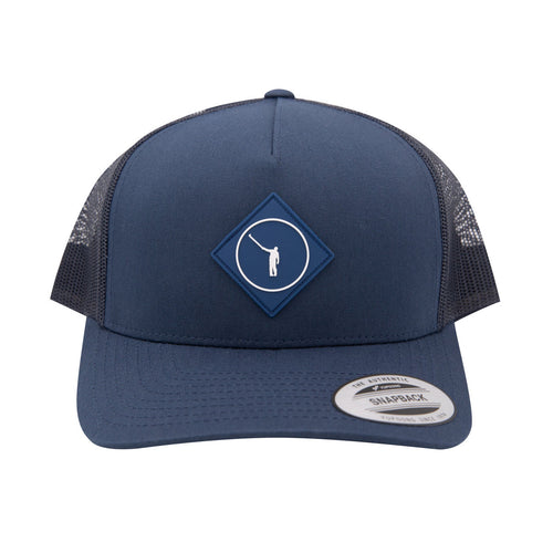 NLU Diamond Patch Hat | Navy