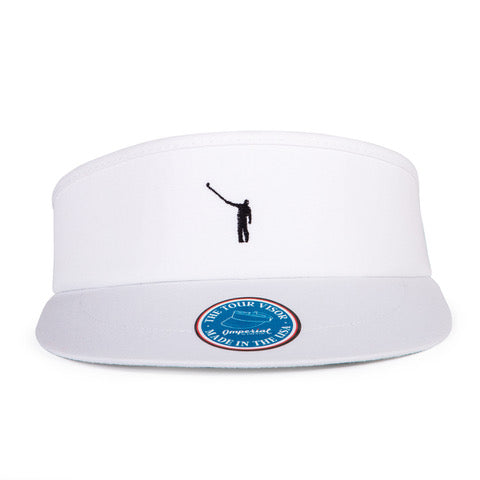NLU Tour Visor | White w/ Black