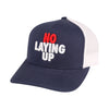 Mesh-Back NLU Hat | Navy, Red & White