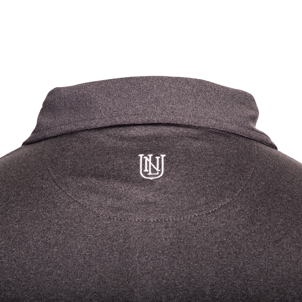 NLU Performance Polo | Heather Grey
