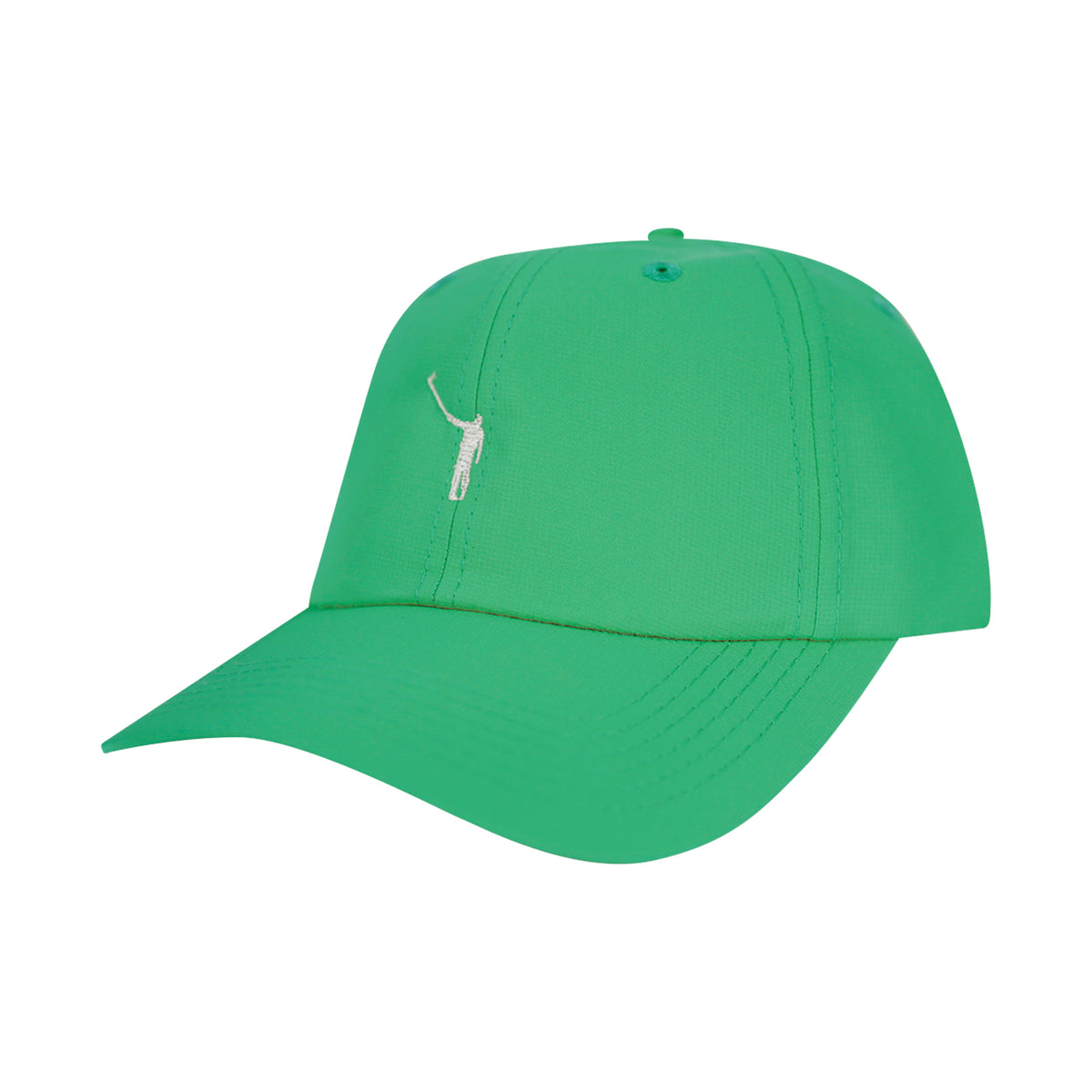 The No Laying Up Hat | Green w/ White Logo